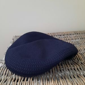 Black Kangol Tropic Ventair Knit Hat Sz Large